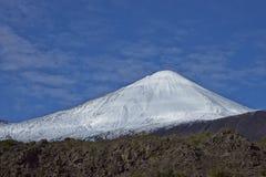 Вулкан Antuco в национальном парке Laguna de Laja, Чили стоковая фотография