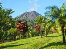 вулкан arenal Costa Rica Стоковые Изображения