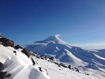 Вулкан Avacha Стоковое Изображение RF