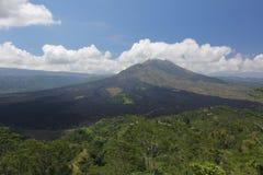 Вулкан Batur в Бали, Индонезии Стоковое Фото