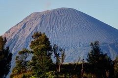 Вулкан Bromo в Индонезии Стоковые Фотографии RF