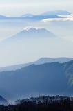 Вулкан Bromo в Индонезии Стоковая Фотография