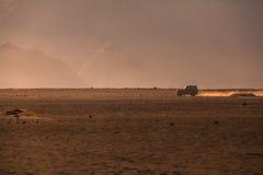 Вулкан Bromo держателя во время восхода солнца Стоковые Фото