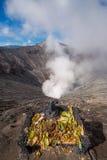 Вулкан Bromo статуи Ganesh Стоковая Фотография