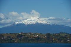 Вулкан Calbuco - Puerto Varas - Чили Стоковое фото RF