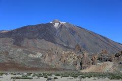 Вулкан El Teide в Тенерифе, Испании Стоковое Фото