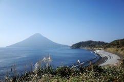 Вулкан Kaimondake Стоковые Фотографии RF