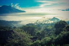 Вулкан Kintamani Бали Стоковое Фото
