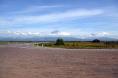 Вулкан Koryak. Камчатка Стоковое фото RF