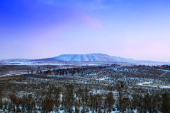 Вулкан Langwo Стоковая Фотография RF