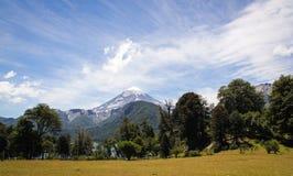 Вулкан Lanin Стоковое Изображение RF