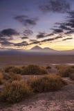 Вулкан Lincancabur Стоковые Изображения