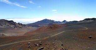вулкан maui haleakala Стоковые Изображения