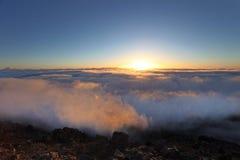 вулкан maui haleakala Стоковое Фото