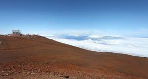 вулкан maui haleakala Стоковые Изображения RF