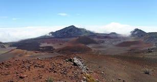 вулкан maui haleakala Стоковая Фотография RF