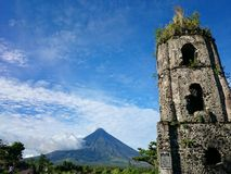 Вулкан Mayon Стоковые Изображения
