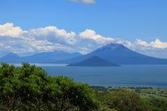 Вулкан Momotombo Стоковое Изображение