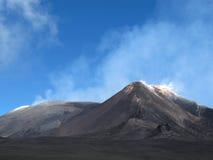 Вулкан Mount Etna, Сицилия, Италия стоковое фото rf