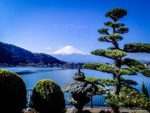 Вулкан Mount Fuji, Япония стоковое фото rf
