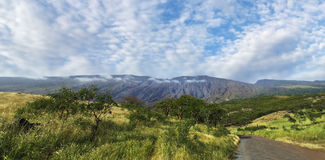 Вулкан Mt Haleakala, Мауи, Гаваи Стоковая Фотография