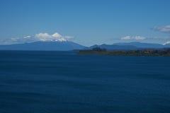 Вулкан Osorno - Puerto Varas - Чили Стоковые Изображения RF