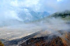 Вулкан Poas стоковое фото rf