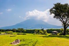 Вулкан Sakurajima Стоковые Фото