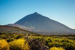 вулкан tenerife teide Стоковое Изображение RF