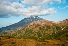 Вулкан Vilyuchinsky Стоковые Фото