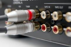 входные сигналы Стоковая Фотография RF
