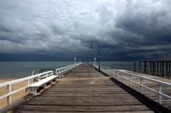 Входящий шторм стоковая фотография