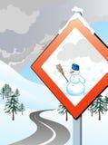 входящяя зима Иллюстрация штока