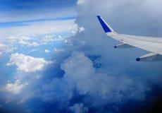 Входя в облако 9 стоковые фотографии rf