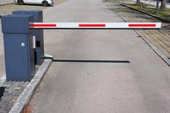 вход барьера стоковые фотографии rf