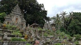 Вход виска Pura Kehen, индусский висок в Бали, Индонезии стоковые изображения rf