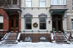 вход жилого дома старый Стоковая Фотография RF