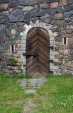 вход замока старый Стоковые Фотографии RF