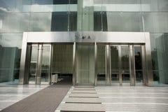 вход здания самомоднейший Стоковые Фотографии RF