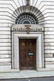 Вход здания Фарадея стоковое изображение rf