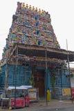 Вход индусского виска в Tamil Nadu стоковое изображение rf