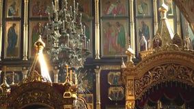 Вход к архитектуре церков сток-видео