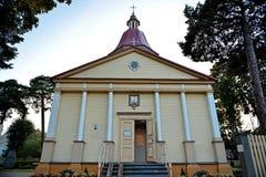 Вход к католической церкви Стоковая Фотография