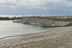 Вход к морю Стоковая Фотография