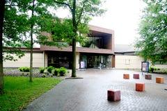 Вход к музею лагеря перехода Westerbork Стоковые Фотографии RF