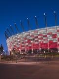 Вход к национальному стадиону, Варшава, Польше Стоковое Изображение RF