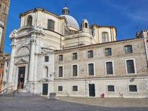 Вход к церков Сан Geremia, Венеции Стоковое Изображение RF