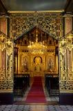 Вход к церков St Stephen главной залы молитве болгарской также известной к стоковая фотография rf