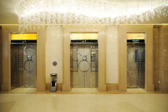 вход лифта Стоковое Фото