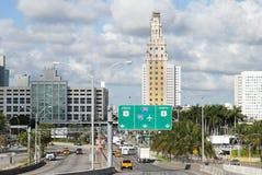 Вход Майами городской Стоковая Фотография